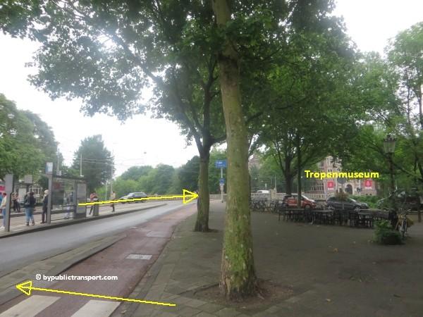 hoe kom ik bij het tropenmuseum amsterdam met het ov openbaar vervoer by public transport 18