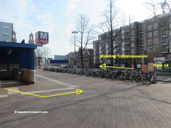 hoe kom ik bij het tropenmuseum amsterdam met het ov openbaar vervoer by public transport 25