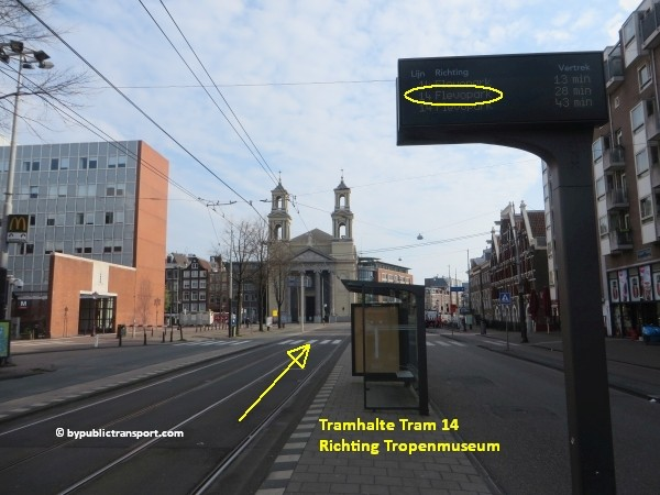 hoe kom ik bij het tropenmuseum amsterdam met het ov openbaar vervoer by public transport 26