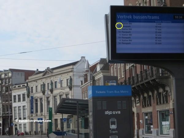 hoe kom ik bij het tropenmuseum amsterdam met het ov openbaar vervoer by public transport 33