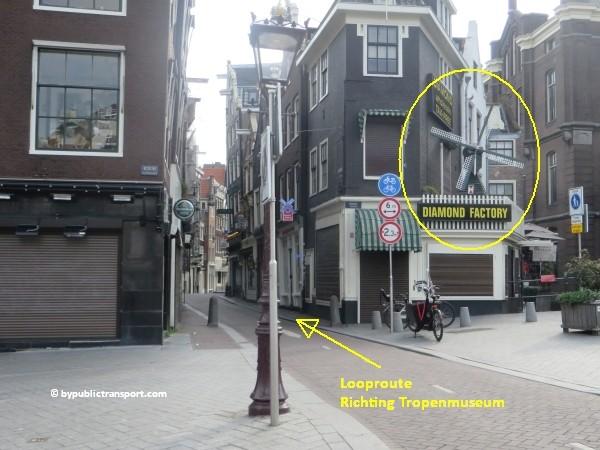 hoe kom ik bij het tropenmuseum amsterdam met het ov openbaar vervoer by public transport 34