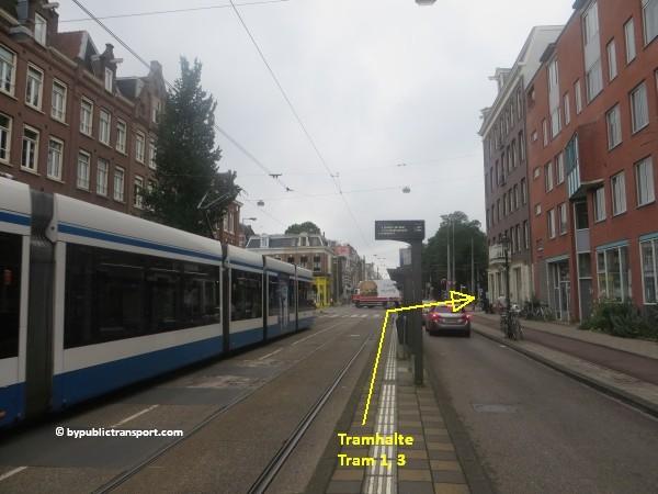 hoe kom ik bij het tropenmuseum amsterdam met het ov openbaar vervoer by public transport 36