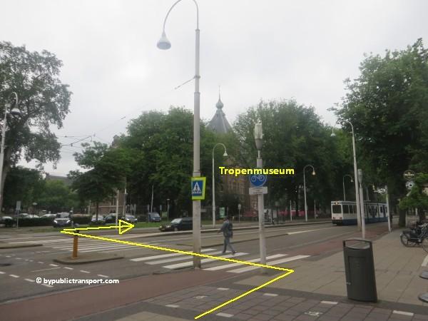 hoe kom ik bij het tropenmuseum amsterdam met het ov openbaar vervoer by public transport 39