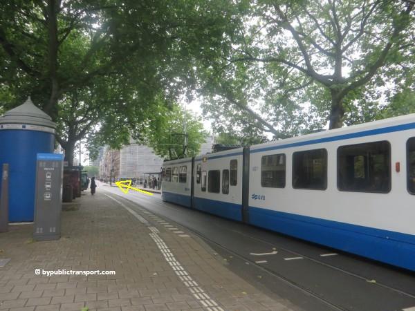 hoe kom ik bij theater carre amsterdam met het ov openbaar vervoer by public transport 02