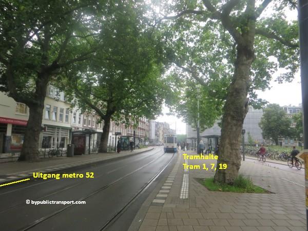 hoe kom ik bij theater carre amsterdam met het ov openbaar vervoer by public transport 03