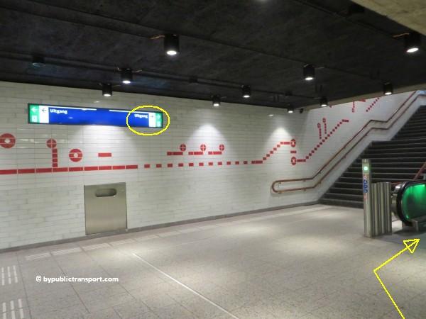 hoe kom ik bij theater carre amsterdam met het ov openbaar vervoer by public transport 05