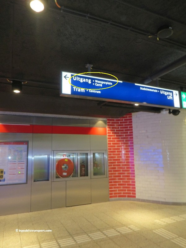 hoe kom ik bij theater carre amsterdam met het ov openbaar vervoer by public transport 08