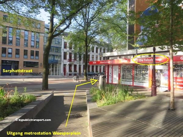 hoe kom ik bij theater carre amsterdam met het ov openbaar vervoer by public transport 11