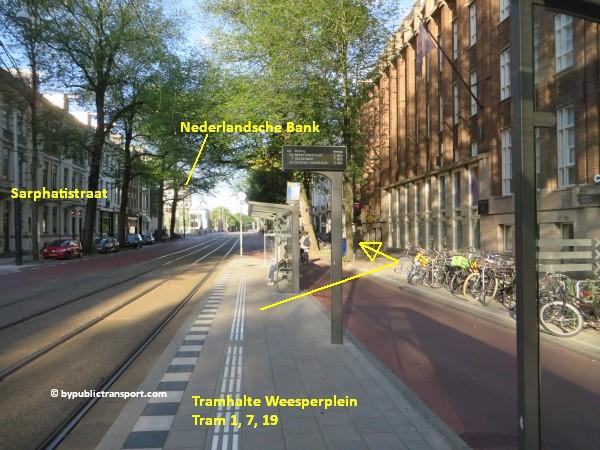 hoe kom ik bij theater carre amsterdam met het ov openbaar vervoer by public transport 12