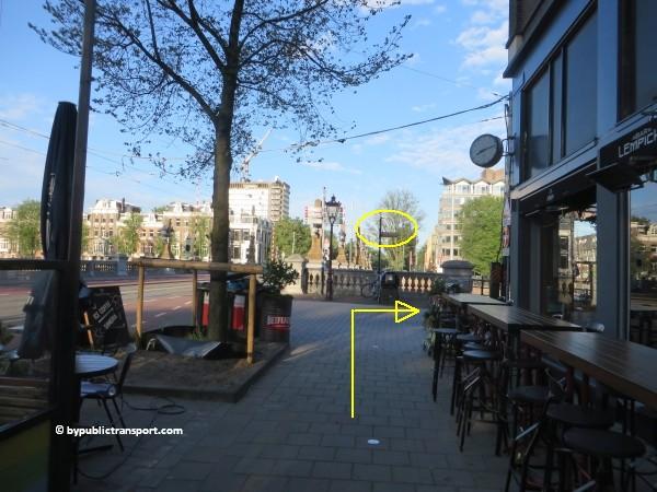 hoe kom ik bij theater carre amsterdam met het ov openbaar vervoer by public transport 15