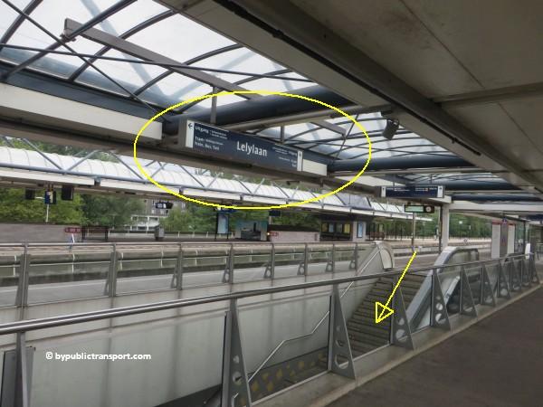 hoe kom ik bij theater de meervaart amsterdam met het ov openbaar vervoer by public transport 02