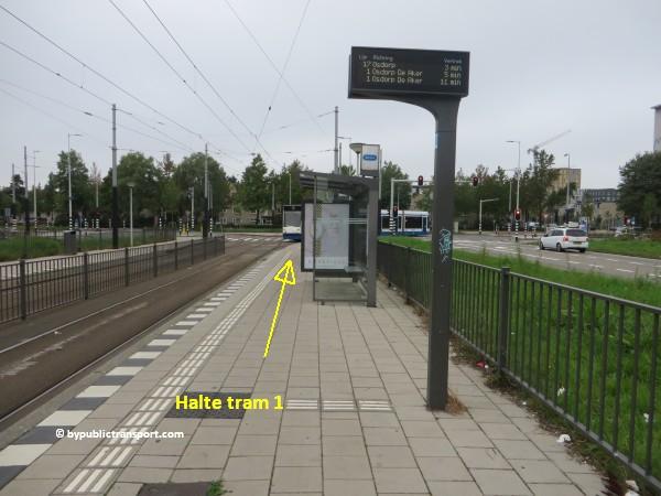 hoe kom ik bij theater de meervaart amsterdam met het ov openbaar vervoer by public transport 07