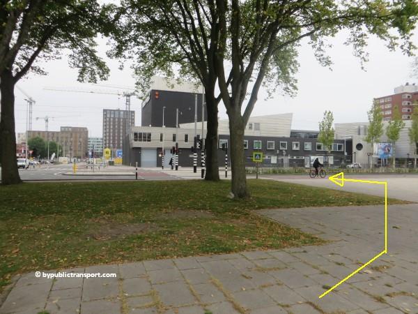 hoe kom ik bij theater de meervaart amsterdam met het ov openbaar vervoer by public transport 14