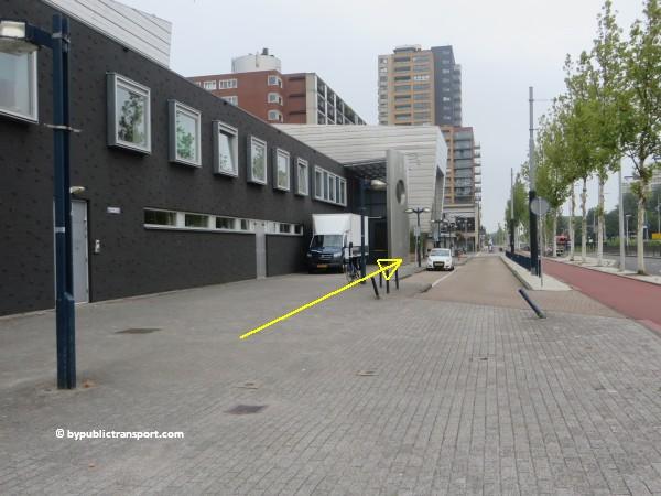hoe kom ik bij theater de meervaart amsterdam met het ov openbaar vervoer by public transport 16