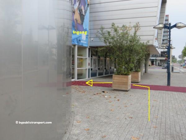 hoe kom ik bij theater de meervaart amsterdam met het ov openbaar vervoer by public transport 17