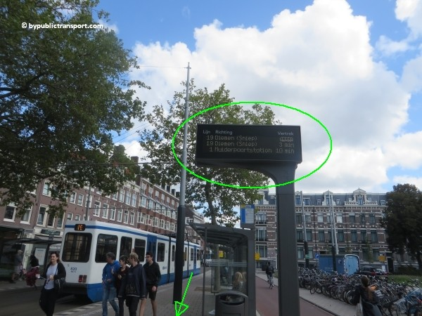 how do i get to the heineken experience amsterdam by public transport 15