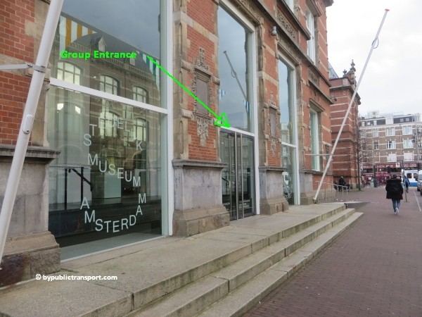 how do i get to the stedelijk museum amsterdam by public transport 02