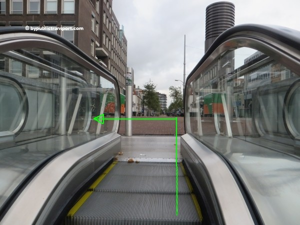 how do i get to the stedelijk museum amsterdam by public transport 08