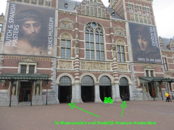 how do i get to the stedelijk museum amsterdam by public transport 16