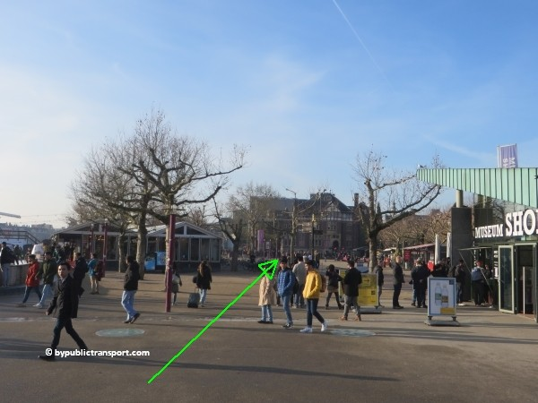 how do i get to the stedelijk museum amsterdam by public transport 20