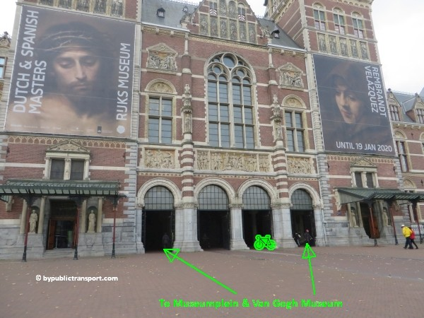 how do i get to the van gogh museum amsterdam by public transport 18