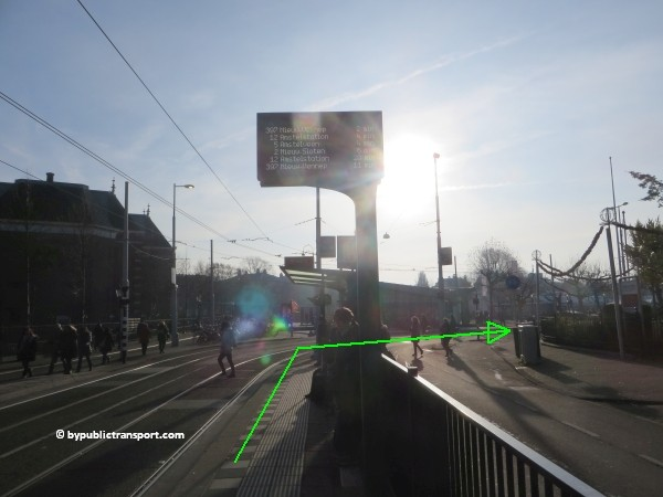 how do i get to the van gogh museum amsterdam by public transport 27