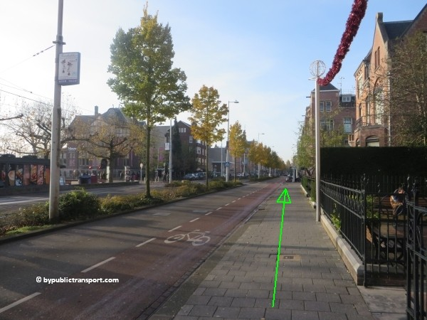 how do i get to the van gogh museum amsterdam by public transport 29