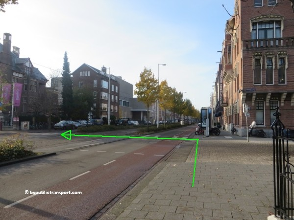 how do i get to the van gogh museum amsterdam by public transport 30