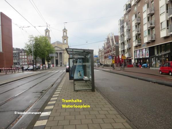 nationaal holocaust namenmonument amsterdam met het ov openbaar vervoer by public transport 08