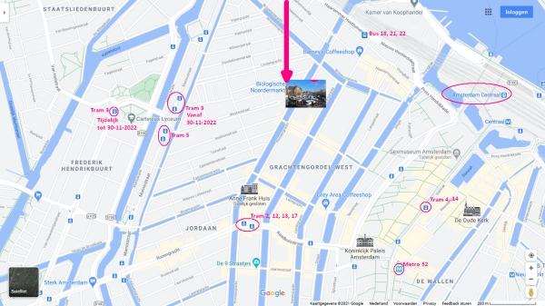 noordermarkt amsterdam tram metro stops nearby 600 x 337