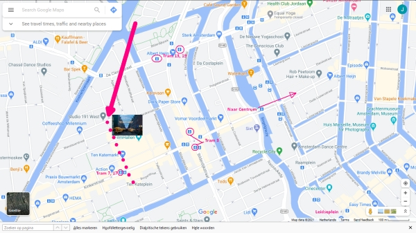 ten katemarkt amsterdam tram metro stops nearby 600 x 337